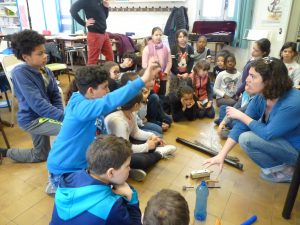 Intervention en milieu scolaire — GMEM Marseille